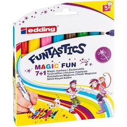 8 edding FUNTASTICS e-13 Filzstifte farbsortiert