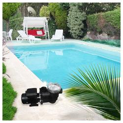 Oskar Pool-Filterpumpe Poolpumpe Schwimmbadpumpe mit Vorfilter 7,5 m³
