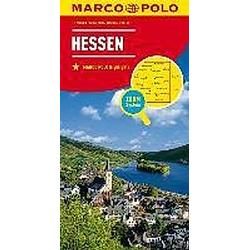 MARCO POLO Karte Hessen; Hesse - Buch