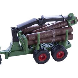 Siku Spielzeug-Auto SIKU 1645 Traktor mit Forstanhänger