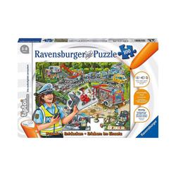 Ravensburger Puzzle tiptoi® Puzzle - Entdecken & Erleben: Die Polizei, Puzzleteile