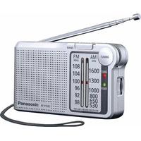 Panasonic RF-P150DEG Taschenradio mit UKW/MW-Tuner silberfarben