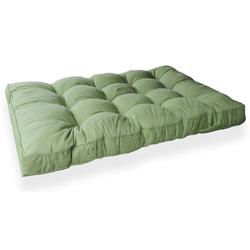 GMD Living Sitzkissen PREMIUM PALETTE, 1 Sitzkissen, grün, 12 cm Polsterhöhe grün 1 Sitzkissen, grün - 80 cm x 120 cm