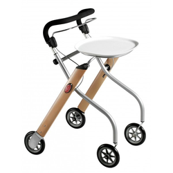 Trust Care Indoor-Rollator Let's Go buche/silber