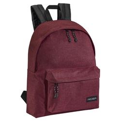 PEDEA Rucksack Daypack für Damen & Herren mit 13,3 Zoll (33,8 cm) Laptop Fach, 24l, rot