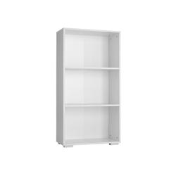 tectake Bücherregal Bücherregal Lexi 3 Fächer, 1-tlg. weiß