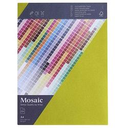 artoz Briefpapier Mosaic lime DIN A4 90 g/qm 25 Blatt