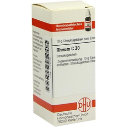 RHEUM C 30 Globuli 10 g