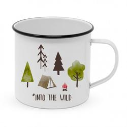Tasse Happy Metal Mug Design@Home