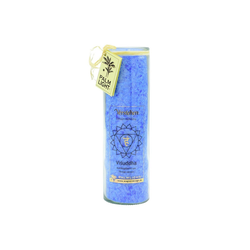 yogabox Duftkerze Chakra 5 Vishudda blau