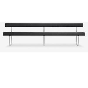 Sitzbank gepolstert mit Lehne Girsberger Permesso 280 cm