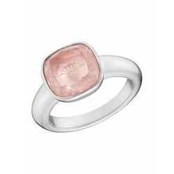 Ring für Damen, Sterling Silber 925, Rosenquarz JOOP! Silber