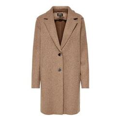 ONLY Einfarbiger Mantel Damen Beige Female M