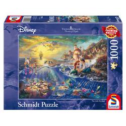 SCHMIDT SPIELE (UE) Disney Arielle von Thomas Kinkade 1000 Teile Puzzle Mehrfarbig