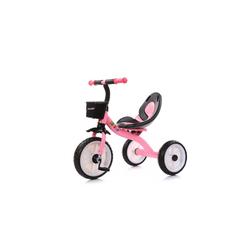 Chipolino Dreirad Dreirad Strike, ab 3 Jahre max. Traglast 25 kg komfortabler Sitz rosa