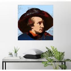 Posterlounge Wandbild, goethe 50 cm x 50 cm