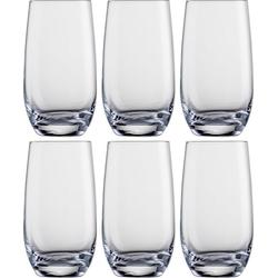 Eisch Longdrinkglas (6-tlg), Kristallglas, bleifrei, 490 ml