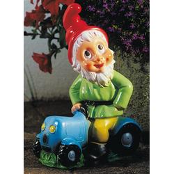 Zwerg auf Traktor 32 cm