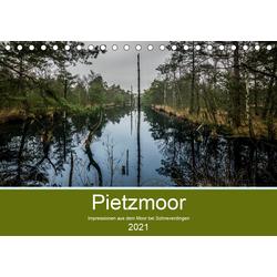 Impressionen aus dem Pietzmoor bei Schneverdingen (Tischkalender 2021 DIN A5 quer)