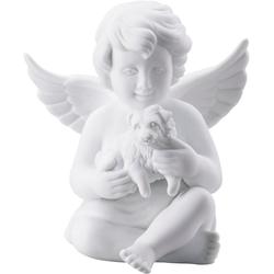 Rosenthal Engelfigur Engel mit Hund (1 Stück) 7,7 cm x 7,5 cm x 7,1 cm