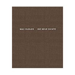 Max Dudler - Die neue Dichte - Buch