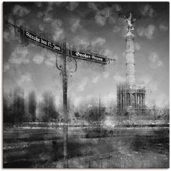 Artland Wandbild Berlin Siegessäule I, Gebäude (1 Stück) 70 cm x 70 cm