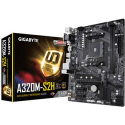 Gigabyte GA-A320M-S2H AM4 AMD Mainboard Sockel AMD AM4 Formfaktor Micro-ATX Mainboard-Chipsatz AMD®