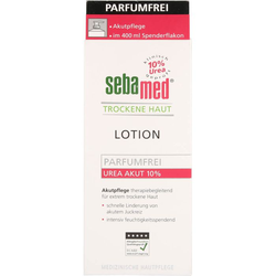 SEBAMED Trockene Haut parfümfrei Lotion Urea 10% 400 ml