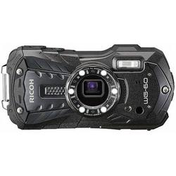 Ricoh WG-60 Digitalkamera 16 Megapixel Opt. Zoom: 5 x Schwarz Wasserdicht, Staubgeschützt