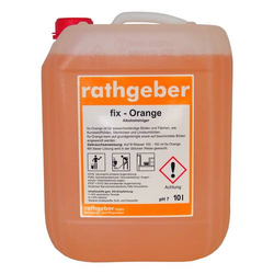 Alkoholreiniger 'fix-Orange' 10,0 L PE-Kanister