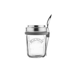 KILNER Lunchbox KILNER Snack To-Go-Glas - der ideale 2Go Lunchbech, Glas