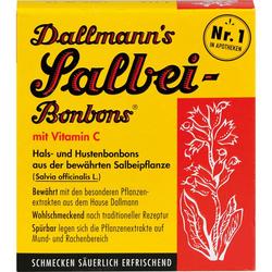DALLMANN'S Salbei Bonbons m.Vit.C. 20 St.