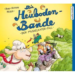 Die Heuboden-Bande - Der Muskelkater-Fall als Hörbuch CD von Ann-Katrin Heger