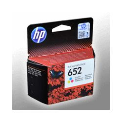 HP Tinte F6V24AE  652  3-farbig