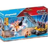 Playmobil City Action Seilbagger mit Bauteil