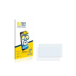 BROTECT Schutzfolie für NavGear GTA-50-3D, (2 Stück), Folie Schutzfolie klar