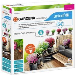 GARDENA Micro-Drip System Start-Set Pflanztöpfe S 13000-51