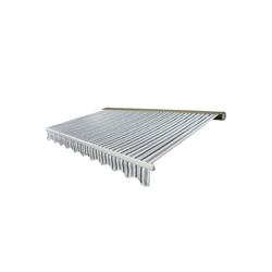 MCW Kassettenmarkise H122-4x3-V Elektrische Kassetten-Markise, Winkel der Markise von 0° bis 35° stufenlos einstellbar weiß