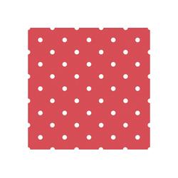 WOW Vliestapete Punkte, (1 St), Rot/Weiss - 10m x 52cm