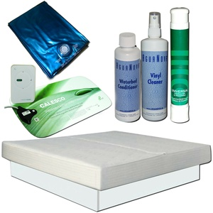 Wasserbett Komplett  MONO Softside Touch LMF Heizung Calesco Starter Set Podest