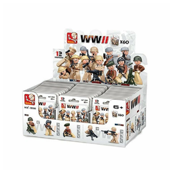 Sluban Actionfigur Minifiguren im Beutel Soldaten 1 Stück [M38-B0580] Blindbag neu, (1-tlg)