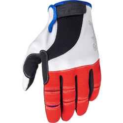 Biltwell Moto, Handschuhe - Rot/Schwarz - XS