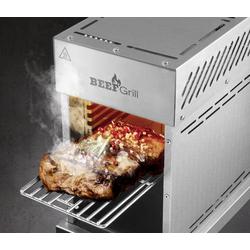 GourmetMaxx Beefgrill K1109A Gas, Steak Grill Edelstahl