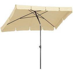 BEST Sonnenschirm La Gomera rechteckig beige
