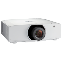 NEC PA653U Beamer ohne Objektiv - 3LCD, WUXGA, 6.500 Lumen, Lens Shift, 2x HDMI