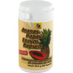 Ananas-Papaya-Kapseln