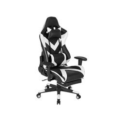 Woltu Gaming-Stuhl BS20, Racing Stuhl aus Kunstleder Modell BS20