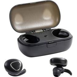 Technaxx Musicman BT-X39 True Wireless In Ear Kopfhörer In Ear Headset, Wasserbeständig Schwarz