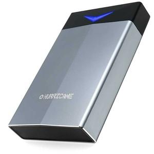 "Hurricane 6TB GD35625 Alu Externe Festplatte, 3.5"" USB 3.0/Type C Port Gaming"