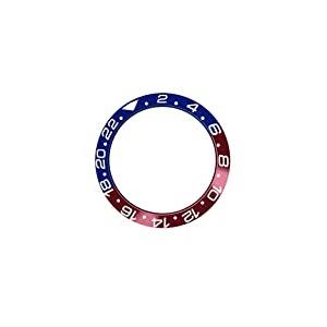 SHEAWA Ersatz-Uhrenring aus Keramik für 40 mm Rolex GMT Uhrenzubehör (4)